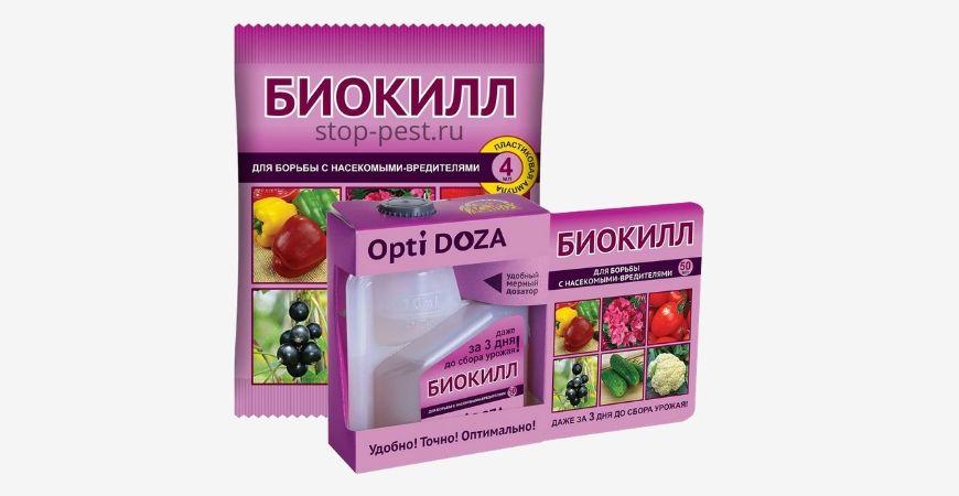 Биокилл - инсектицид, инструкция по применению