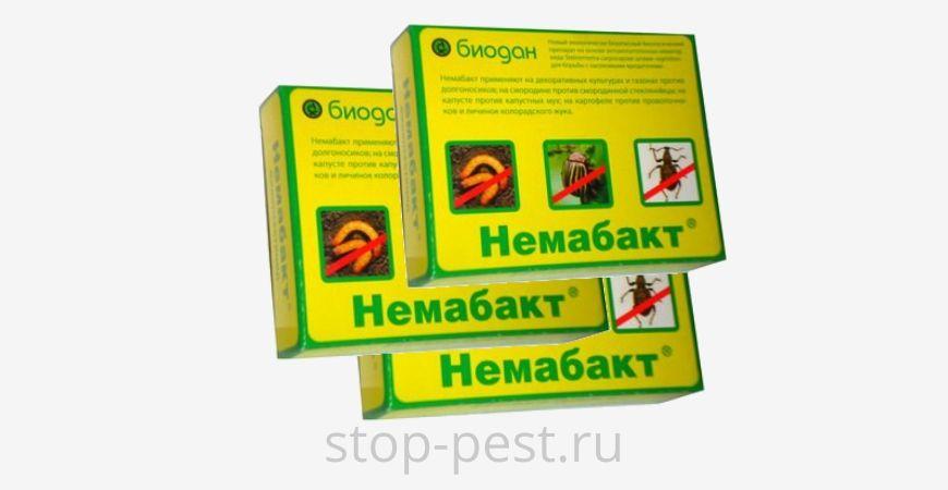 Немабакт - биопрепарат. Инструкция по применению