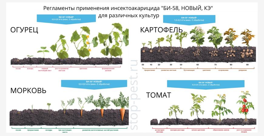 """Регламенты применения инсектоакарицида """"БИ-58 НОВЫЙ, КЭ"""""""