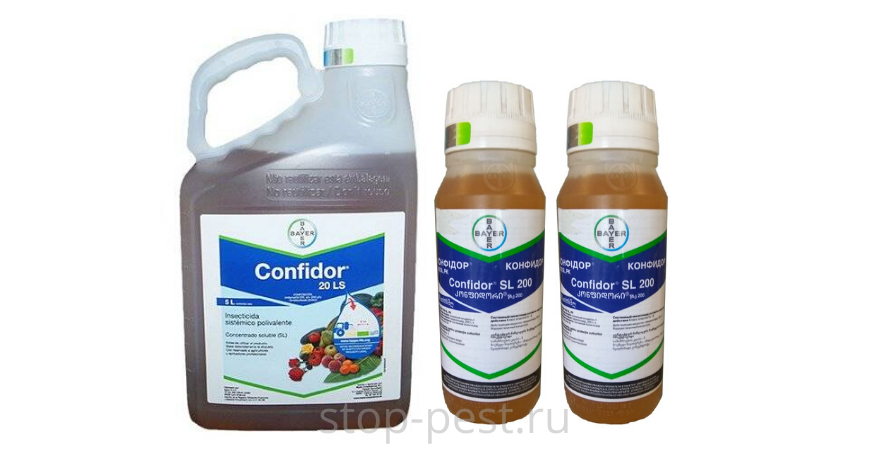 """Базовая версия инсектицида """"Конфидор"""" - 20% жидкий концентрат"""