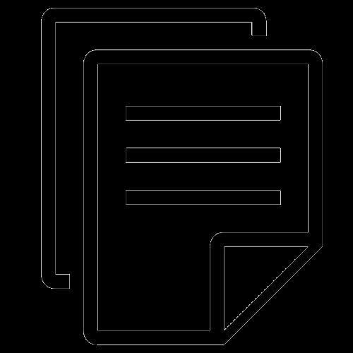Документ-иконка прозрачная