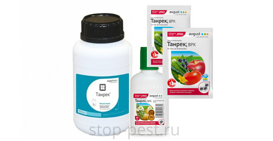 Танрек, ВРК, инсектицид (инструкция по применению)