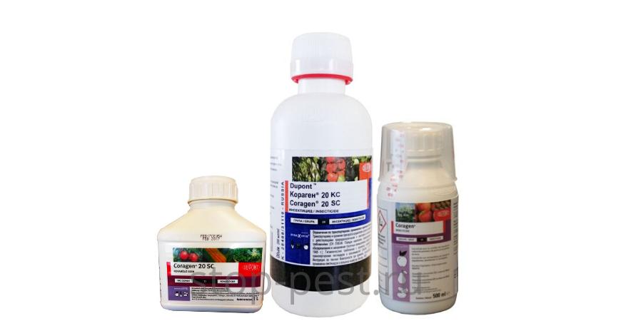Кораген, КС, инсектицид. Инструкция по применению