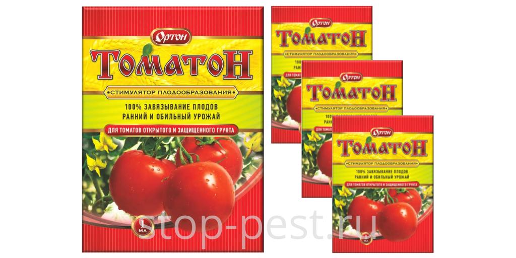 """""""Томатон"""" - один из лучших стимуляторов плодообразования для томатов"""