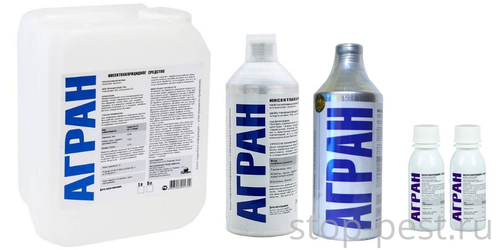 """""""Агран"""" - профессиональный препарат для дезинсекции промышленных и бытовых объектов"""